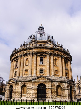 Bodleian Library, Oxford University