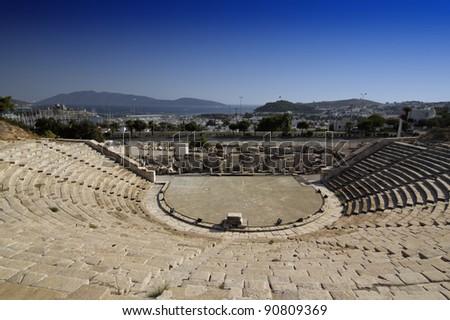 Bodrum -  Amphitheatre - stock photo