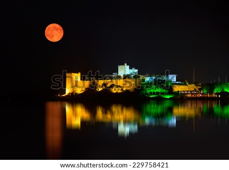 Bodrum Castle  - stock photo