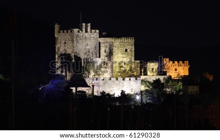 Bodrum Castle - stock photo