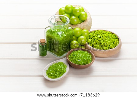 Body care - spa and wellness - stock photo