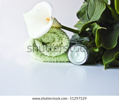 Body products for different concepts: beauty, vations, lifestyle - stock photo