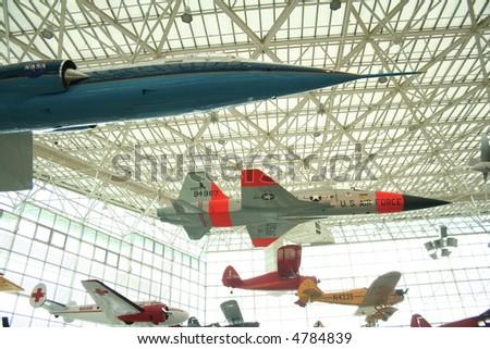 boeing museum of flight in seattle washington - stock photo