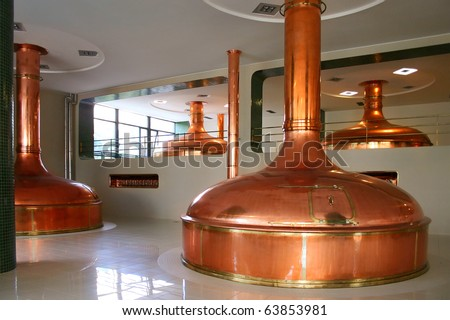 bohemian brewery - stock photo
