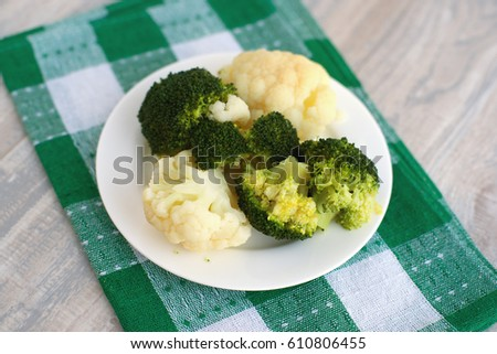 How To Boil Fresh Broccoli And Cauliflower