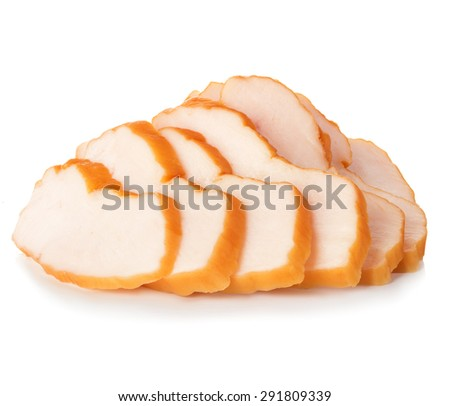 boiled pork - stock photo
