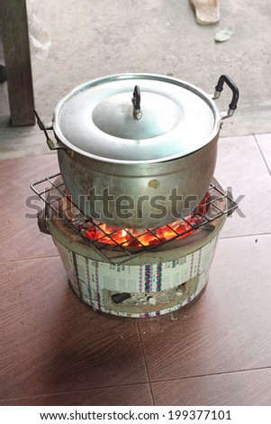 Boiling Thai style - stock photo