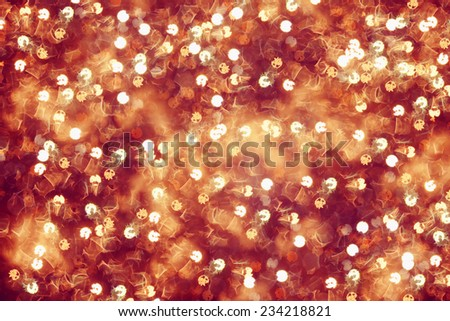 Boke on the wet glass from a rain, tinted background - stock photo