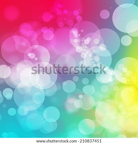 Bokeh abstract background  - stock photo