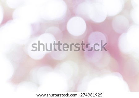bokeh abstract light and blur background