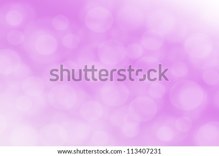 bokeh abstract light background - stock photo