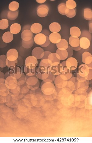 Bokeh and background