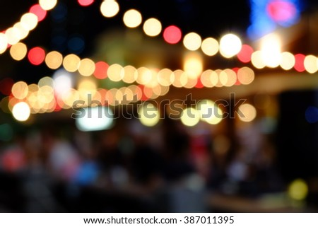 bokeh background. blur background - stock photo