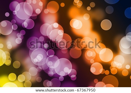 Bokeh background full of colors and blurred shapes. Good for website designs, christmas designs or any other project you might have in mind. - stock photo