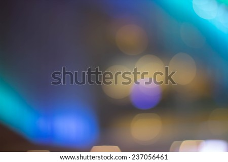 Bokeh background full of colors, christmas designs or any other project you might have in mind. - stock photo