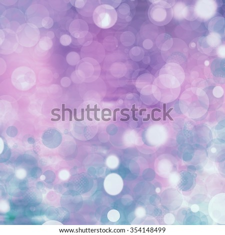 Bokeh background in soft colors - stock photo