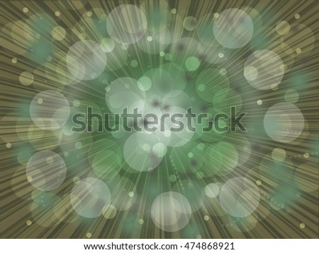 Bokeh background of design abstract