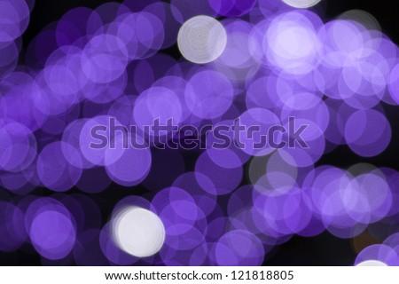 bokeh background purple - stock photo
