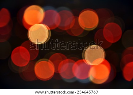 Bokeh background texture.