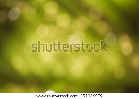 bokeh background with nature - stock photo