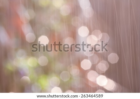 bokeh blurry natural abstract violate background - stock photo