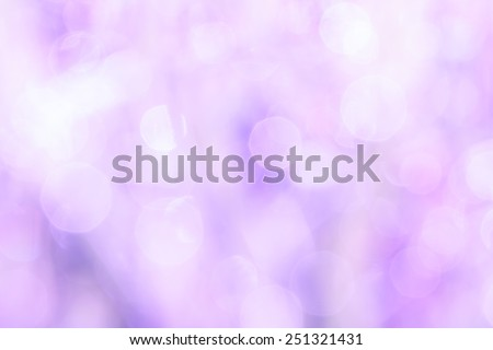 bokeh blurry natural abstract violet background - stock photo