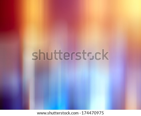 bokeh city lights blurred background effect - stock photo