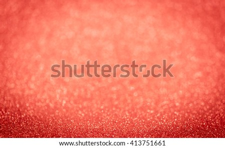 Bokeh elegant red glitter bright background abstract. - stock photo