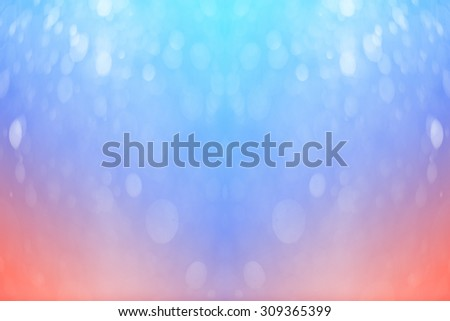bokeh in soft color style for background. - stock photo