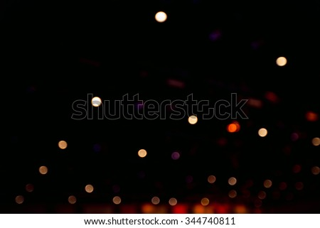 Bokeh,light - stock photo