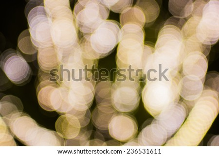 Bokeh light decoration and background for event or pattern design - stock photo
