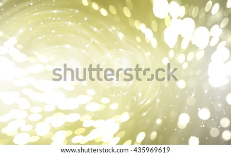 Bokeh light gold abstract background.