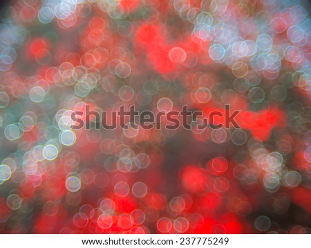 Bokeh light of christmas tree, Abstract background