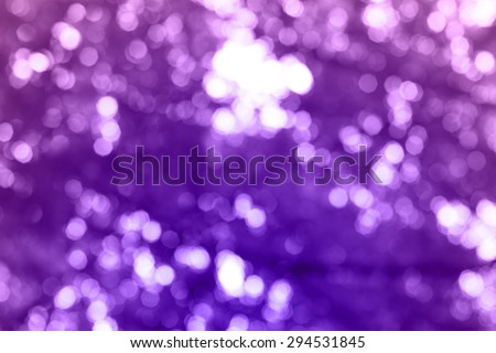 Bokeh nature background - stock photo