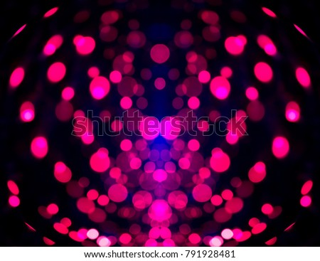 Bokeh Pink Color Effect Abstract Background Stock Photo 791928481 ...