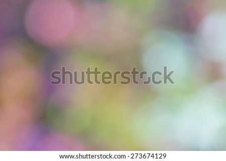 Bokeh texture - colors of spring - stock photo