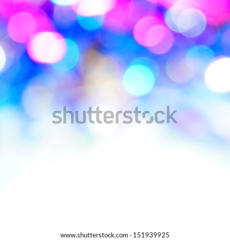 bokeh vivid color background - stock photo