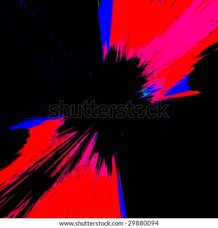 Bold Grunge Abstract - stock photo