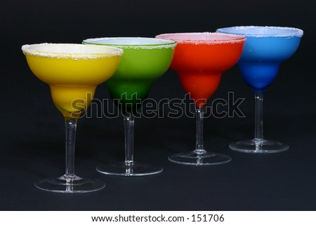 Bold Margarita Glasses