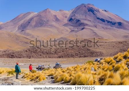 Bolivia, Antiplano - Canapa Lake - stock photo