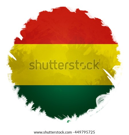 Bolivia flag, digital art effect.
