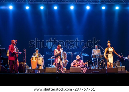 "Bollate (Italy) 16/07/2013 - Concert ""Orquestra Buena Vista Social Club"" in at the Festival of Villa Arconati."
