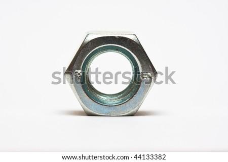 Bolt macro - stock photo