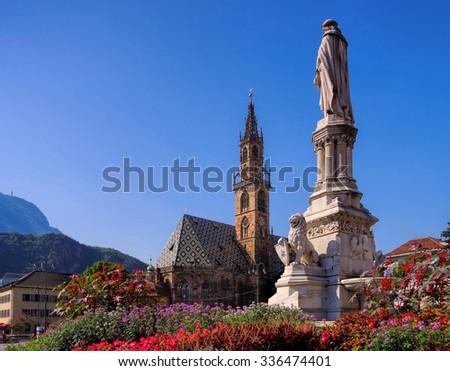 Bolzano  - stock photo