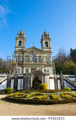 Bom Jesus do Monte, pilgrimage site, Portugal