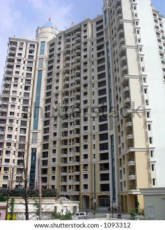 Bombay's new super-suburb, Mulund - stock photo