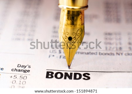 Bond indices - stock photo