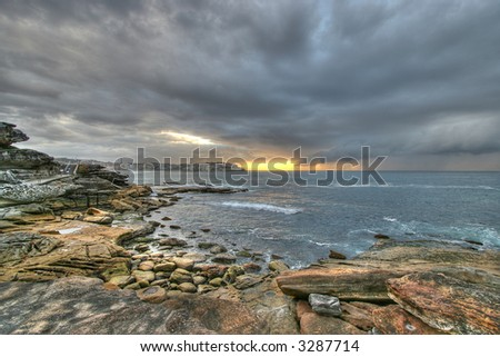 bondi beach - stock photo