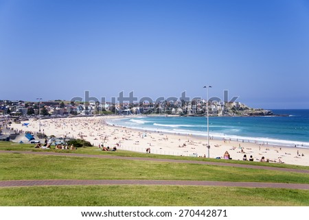 Bondi Beach, Australia - stock photo