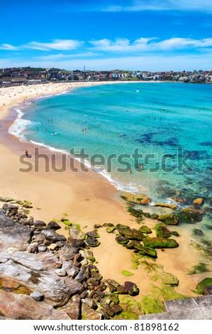 Bondi Beach, Australia - stock photo